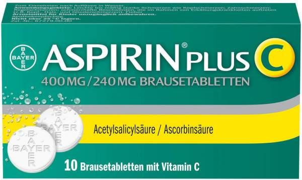 Aspirin Plus C 10 Brausetabletten