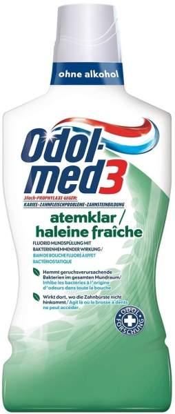 Odol Med3 Atemklar Mundspülung 500 ml Lösung