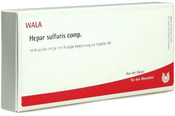 Hepar Sulfuris Comp. Ampullen 10 X 1 ml