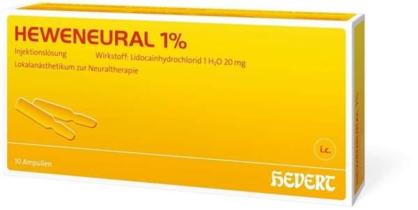 Heweneural 1% 10x2 ml Ampullen