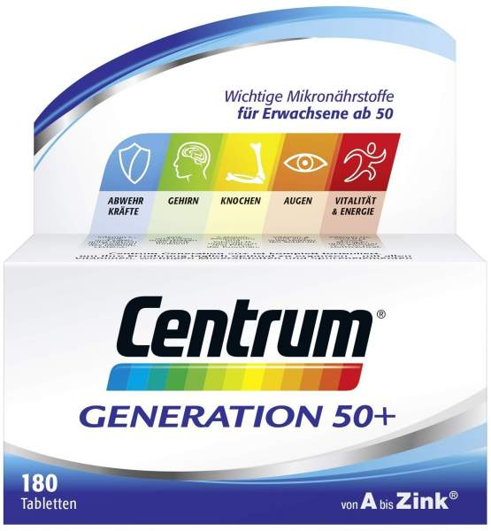 Centrum Generation 50+ 180 Tabletten
