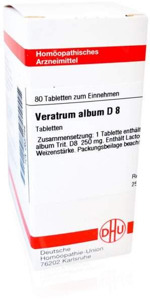 Veratrum Album D 8 Tabletten