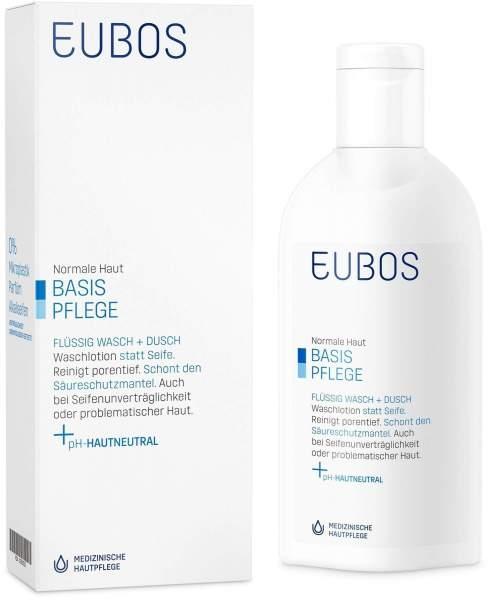 Eubos Flüssig Wasch Emulsion Unparfümiert 200 ml Flüssigkeit