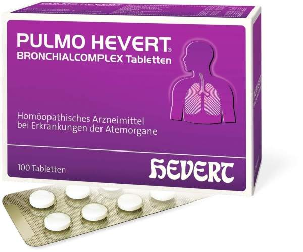 Pulmo Hevert Bronchialcomplex 100 Tabletten