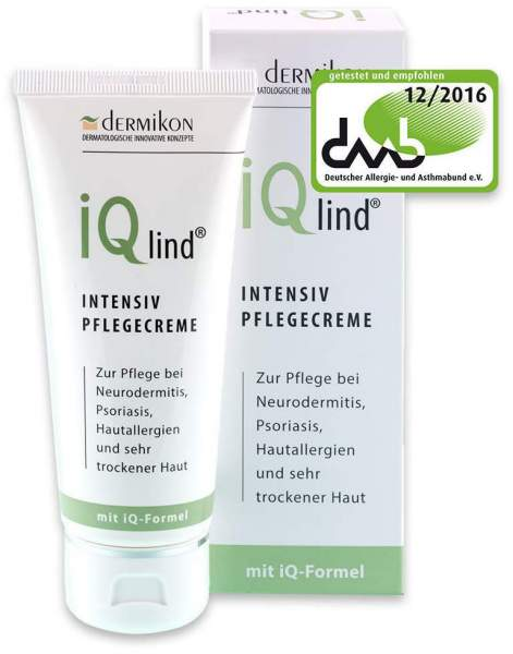 Iqlind Intensiv Pflegecreme 100 ml Creme