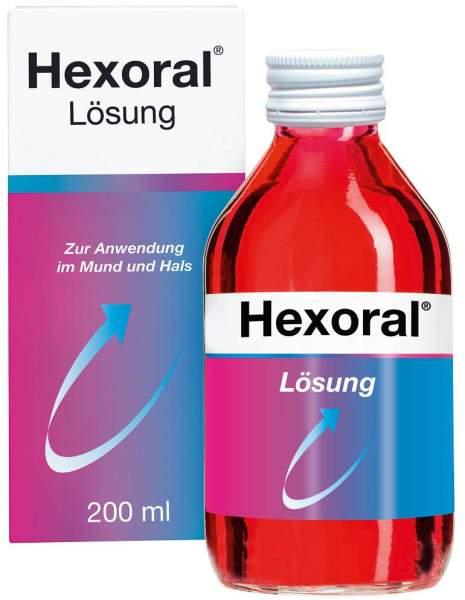 Hexoral 0,1 % 200 ml Lösung