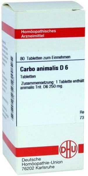 Carbo Animalis D6 80 Tabletten