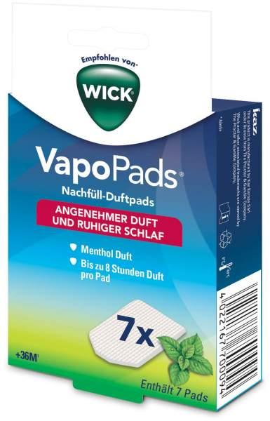Wick Vapo Nachfüll-Pads Menthol 7 Stück