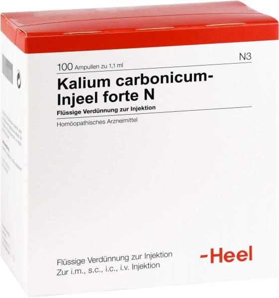 Kalium Carbonicum Injeel Forte N 100 Ampullen