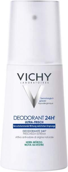 Vichy Deodorant Pumpzerstäuber Herb-Würzig 100 ml Deospray