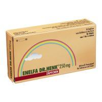 Enelfa 250 mg Zäpfchen Kleinkindersupsitorien