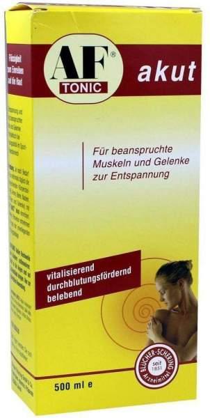 Af Tonic Akut Entspannung Für Muskeln und Gelenke 500 ml