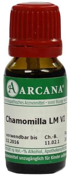 Chamomilla Arcana Lm 6 Dilution