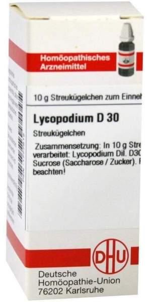 Lycopodium D30 10 G Globuli