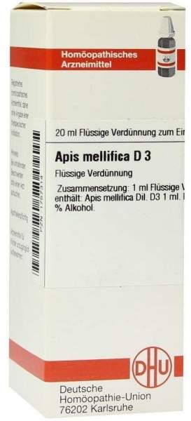 Apis Mellifica D3 Dhu 20 ml Dilution
