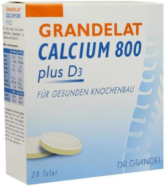Grandelat Calcium 800 Plus D3 20 Kautabletten