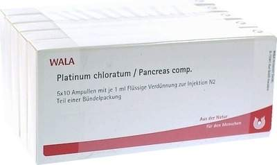 Wala Platinum Chloratum Pancreas Comp. 50 X 1 ml Ampullen