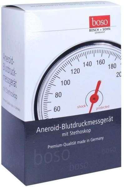 Boso Egotest Blutdruckmessgerät Schwarz Aneroid Mit Stethoskop