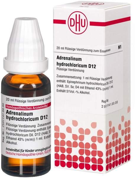 Dhu Adrenalinum Hydrochloricum D12 Dilution
