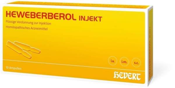 Heweberberol Injekt 10 Ampullen
