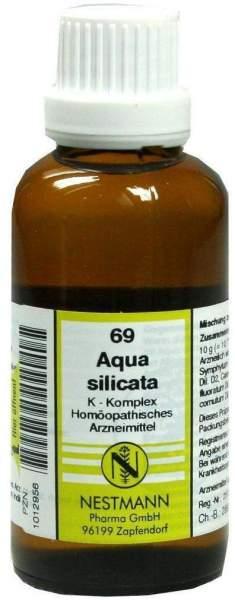 Aqua Silicata K Komplex 69 50 ml Dilution