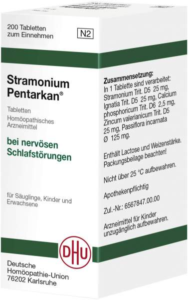 Stramonium Pentarkan Tabletten