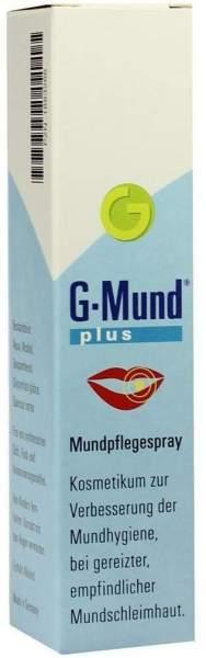 G Mund Plus Mundpflegespray 20 ml Spray