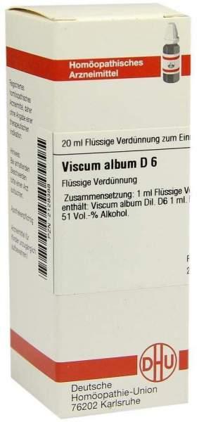 Dhu Viscum Album D6 20 ml Dilution