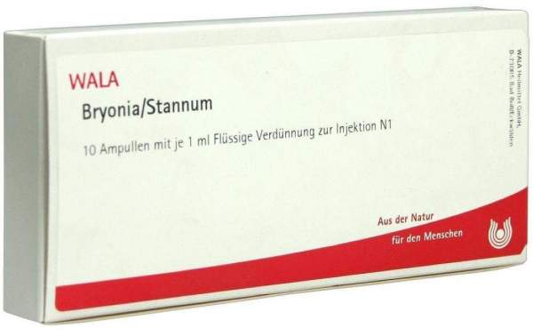Bryonia Stannum Ampullen 10 X 1 ml