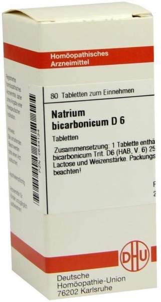 Natrium Bicarbonicum D 6 Tabletten