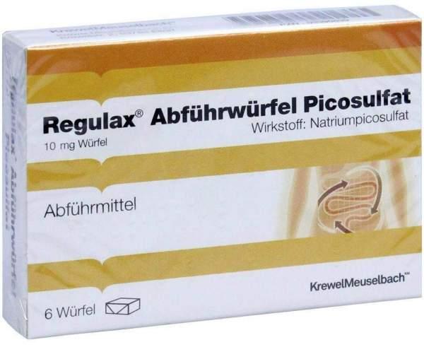 Regulax Abführwürfel Picosulfat 6 Würfel
