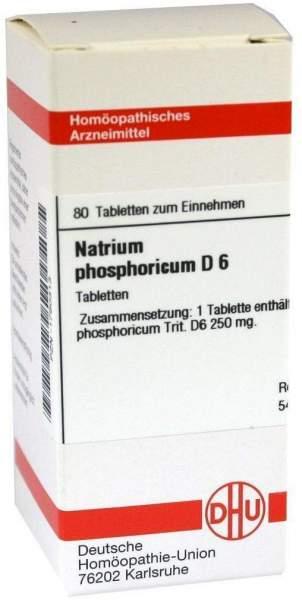 Natrium Phosphoricum D6 80 Tabletten