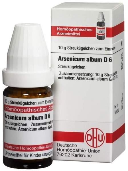 Arsenicum Album D6 10 G Globuli