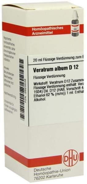 Veratrum Album D12 Dilution 20 ml Dilution
