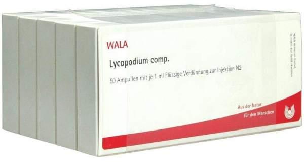 Lycopodium Comp. Ampullen 50 X 1 ml