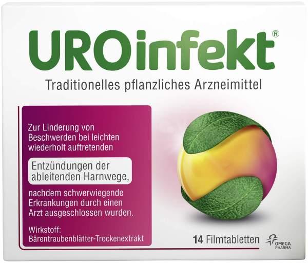 Uroinfekt 864 mg 14 Filmtabletten