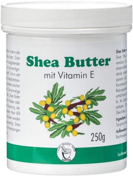 Shea Butter mit Vitamin E 250 g