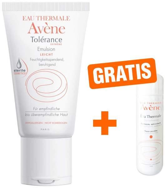 Avene Tolerance Extreme 50 ml Emulsion + gratis Thermalwasserspray 50 ml