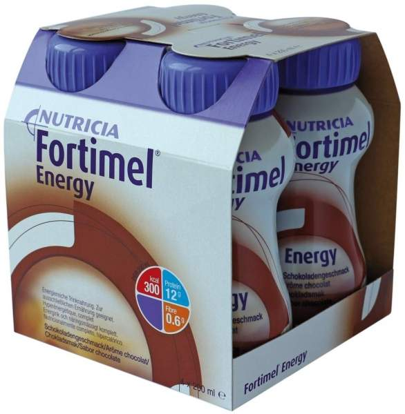 Fortimel Energy Schokoladengeschmack 4 X 200 ml