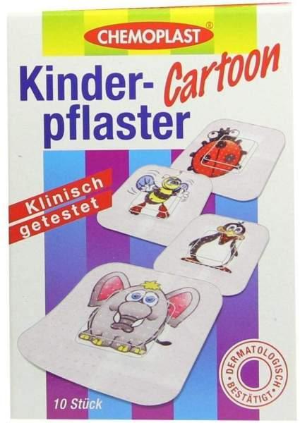 Kinderpflaster Cartoon 10 Stück