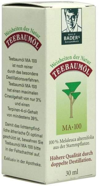Teebaum Öl Amax Ma 100 30 ml Öl