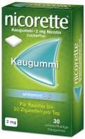 Nicorette Kaugummi 2 mg Whitemint 30 Stück