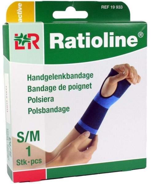 Ratioline active Handgelenkbandage Größe S-M 1 Stück