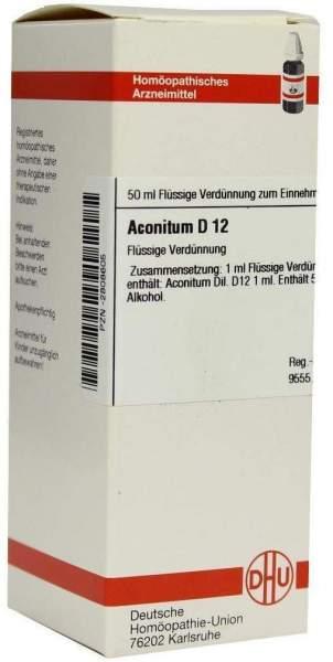 Aconitum D12 50 ml Dilution