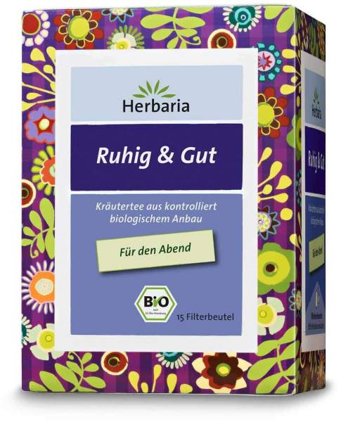 Ruhig & Gut Tee, 15 Filterbeutel