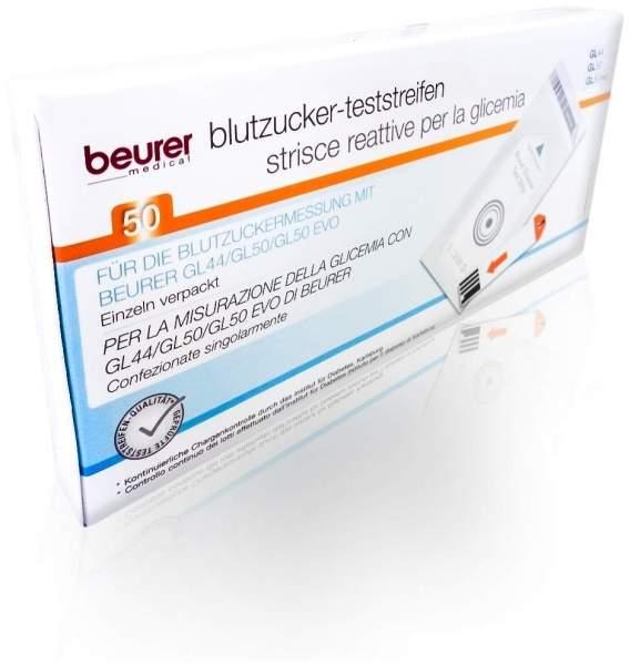 Beurer Gl44 - Gl50 50 Blutzuckerteststreifen