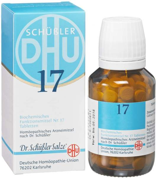 Biochemie DHU 17 Manganum sulfuricum D6 80 Tabletten
