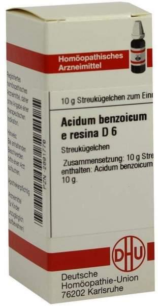 Acidum Benzoicum E. Res. D6 10 G Globuli