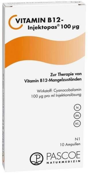 Vitamin B 12 Injektopas 100 µg 10 X 1 ml