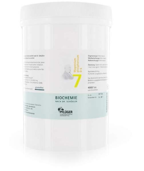 Biochemie Pflüger 7 Magnesium Phosphoricum D6 4000 Tabletten